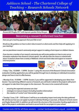 Becoming Research-Informed flyer
